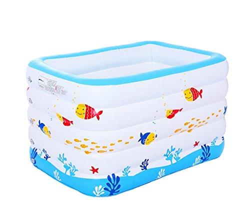 ZHDC® Baignoire gonflable, piscine pour bébé Pliable Baignoire pour bébé Nouveau-nés Bassin de pêche Pliage, pratique ( Couleur : #3 )