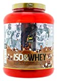 MTX nutrition Iso&Whey RedGOLD (2,267 G) 5 Lbs. Chocolate – Matriz PREMIUM que combina Proteína Concentrada y Aislado de Suero (CFM)