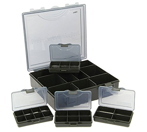 NGT Tackle Box Storage System 4 In 1 Tackle & Bit Box Set