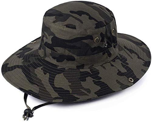Yuany Sombrero de Verano Sombrero de Sol para Hombre Protector Solar P