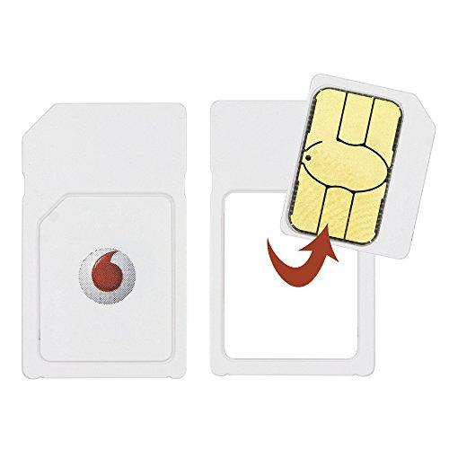Vodafone, scheda dual SIM prepagata