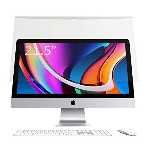 LOE iMac 21.5 ブルーライトカット フィルター 液晶 モニター スクリーン アクリル 保護 パネル フィルム ガード 据え置き型 (2020 iMac21.5 グレア)