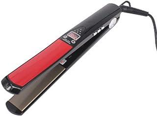 Hair Straightener, Fast Warming Hair Straightener Hair Straight Hair Two-In-One Electric Splint LCD Titanium Gold Plate Cu...