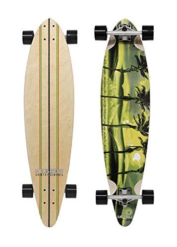Palisades Longboard Palm Girl, Rasta, 1201000125