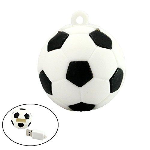 128 GB Pendrive Football USB Stick Cartoon Soccer Modelo USB 2.0 Flash Memory Pen Drive