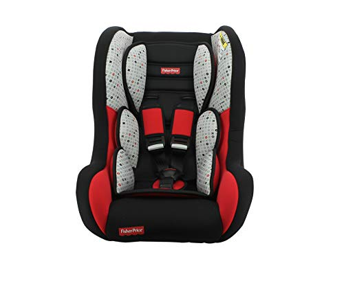 nania seggiolino Auto per Bambini Trio Gruppo 0/1/2 (0-25kg) - Produzione Francese 100% - Protezioni Laterali - Fisher Price