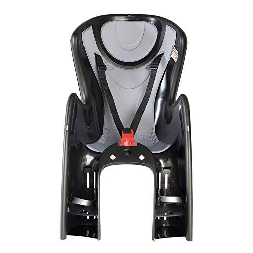 OKBABY Herren Baby Shield Kindersitz-Halterung, Schwarz und Silber, S