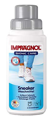 Imprägnol Bionic Care Sneaker Waschmittel 250ml: Ideal für Sneaker, Sport- und Outdoor-Schuhe aus Textil- und Funktionsmaterialien