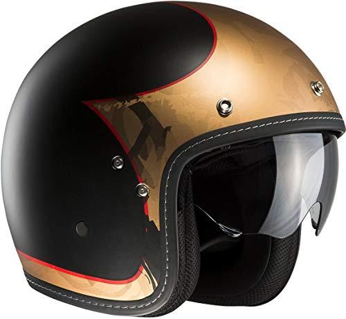 HJC Motorradhelm FG-70s Luko MC1, Gold, Größe M