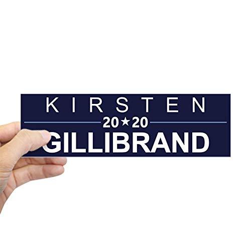 """CafePress Kirsten Gillibrand 2020 Bumper Sticker 10""""x3"""