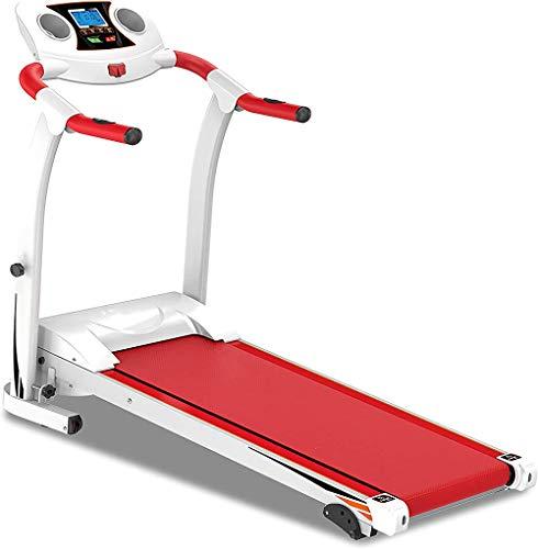 Loopband Opvouwbaar 1,5 Pk, Verstelbare Helling Oefening Cardio Jogging W/Noodsysteem Hand Grip Pulse Sensor Tablet Flessen Holder, 120KGS Max Weight