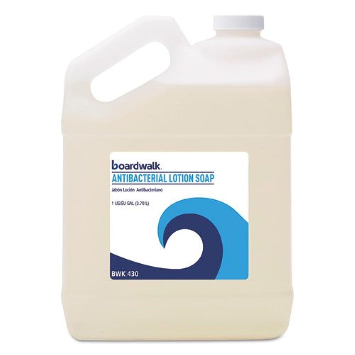銃有彩色のフィッティングBoardwalk 抗菌液体石鹸 フローラルバルサム 1ガロンボトル