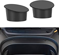 BASENOR Tesla Model 3 Front Bolt Cover Silicone Waterproof Dustproof Cover for 2021 Model 3 Accessories