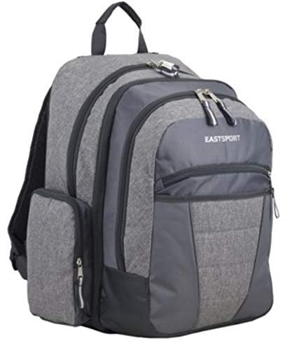 Eastport Executive Gray Expandable Titan Laptop Backpack