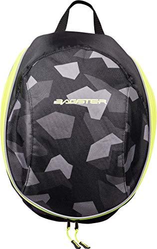 Bagster - Mochila para moto, diseño de camuflaje, color neg