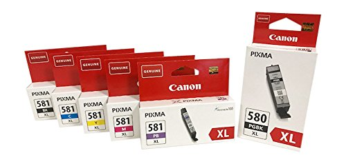Druckerpatronen für Canon Pixma TS8150, TS8151, TS8152, TS9150, TS9155 (XL bk/pbk/pc/c/y/m)