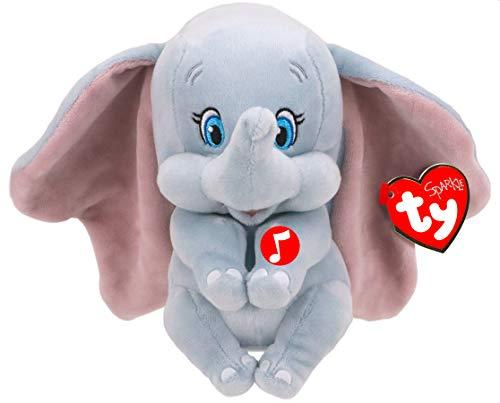 TY 41095 Dumbo W/Sound Marvel Plüsch, Mehrfarbig