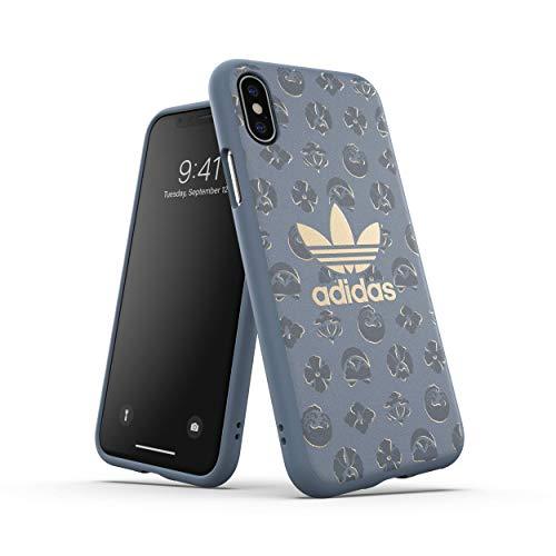 adidas Original Shibori Phone Case/Funda Compatible con iPhone X XS - Graphic Print Blue/Graphic Print Azul Azul