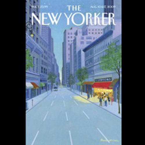 The New Yorker, August 10th & 17th, 2009: Part 2 (Ian Frazier, James Surowiecki, Zev Borow) cover art