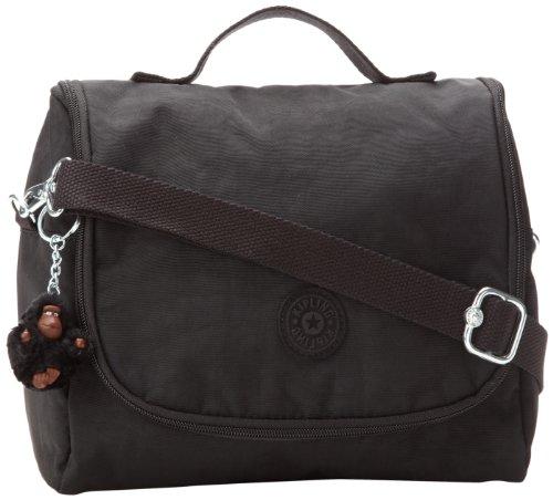 """Kipling Kichirou Insulated Lunch Bag, Black, 9""""L X 8""""H X 5""""D"""