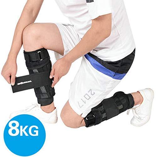 SYZD - Fußgelenkmanschetten für Krafttraining in Black, Größe 8kg