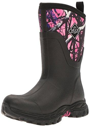 Muck Boots Damen Arctic Sport Ii Mid Gummistiefel, Schwarz (Black/Muddy Girl), 37 EU