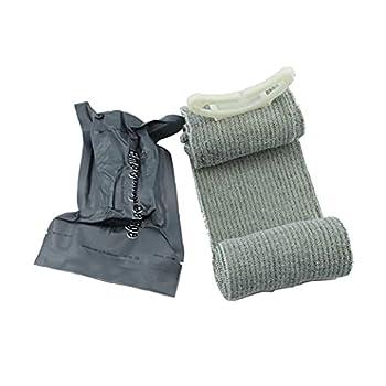 NaiCasy Trauma extérieur Bandage israélien d'urgence Hémostase Bandage de Premiers Soins médicaux de Compression Outil Bandage traumatologie d'urgence Bandage pour extérieur Survival Battle (4