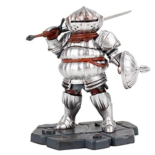 ghfdhf Dark Souls Artorias Figur, Zwiebelritter Jack Bardo Sammlerfiguren Ornamente Spielzeug für Wohnkultur Siegmeyer 10 cm