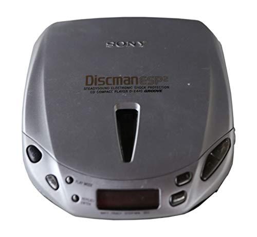 Sony D-E 440 Lettore CD portatile Discman in argento
