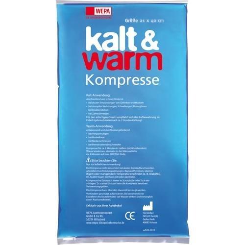 Kalt-Warm Kompresse 21x40 cm, 1 St