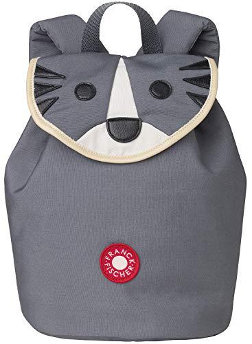 FRANCK & FISCHER Kinder-Rucksack Tiger Laban grau