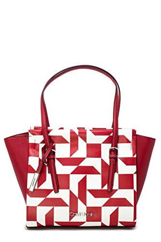 Calvin Klein Borsa donna avant med shopper q k60k605216 unica rosso