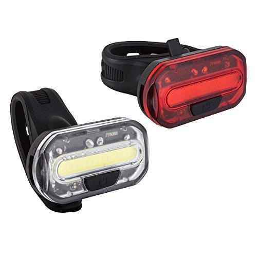 sunlite led bike lights Sunlite Light Combo Ion Black - LGT1155