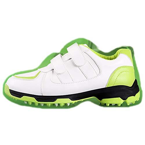 Fenghz-Shoes Schuhe Mode Atmungsaktive 3D Groove Schuhe rutschfeste Golfschuhe (Farbe : A2, Size :...