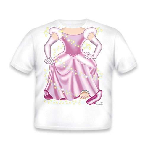 Just Add a Kid - T-shirt imprimé 100% coton - Motif Cendrillon (2 ans)