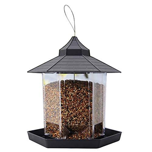 buycheapDG(JP) バードフィーダー 餌入れ プラスチック 屋外 餌やり 鳥 餌箱 餌場 餌台 給餌器 バードフィーダー バード用品 ペット用品 掛け式 ペット食器 野鳥観察 吊下げ