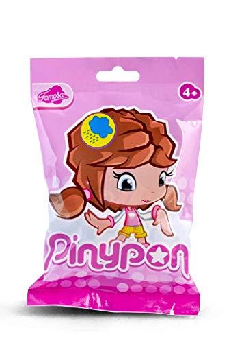 Pinypon Muñeca, Figuras Serie 7, niña pelo negro (Famosa 700013362)