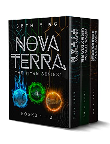 The Titan Series Omnibus : Nova Terra Box Set - Books 1 - 3 - A GameLit/LitRPG Adventure (English Edition)