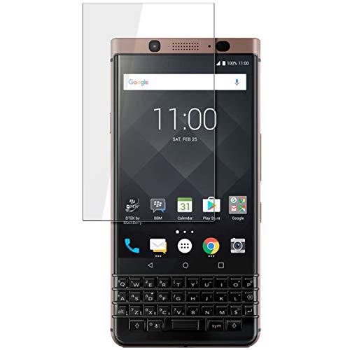 disGuard Schutzfolie für BlackBerry KeyOne Bronze Edition [2 Stück] Entspiegelnde Bildschirmschutzfolie, MATT, Glasfolie, Panzerglas-Folie, Bildschirmschutz, Hoher Festigkeitgrad, Glasschutz, Anti-Reflex