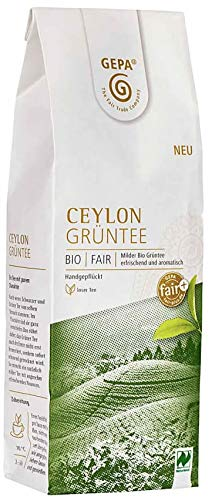 Gepa Bio Grüntee Ceylon - Lose - 1 Karton ( 5 x 100g )