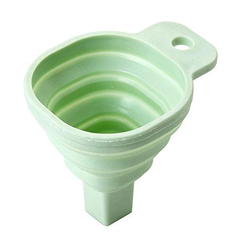 Klok Cone Funnel Keuken Ketel Vloeibare Dispenser Vierkant Kleine Telescopische Vouwen Huishoudelijke voedsel Grade Bakken Gereedschap(3 Stks)