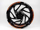Bike Label 710039A Felgenbett mit Felgen-Aufkleber Set passend für KTM 790 Duke