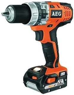 AEG BSB 14C drill Sin llave Negro, Naranja 1,78 kg - Taladro eléctrico (1,3 cm, 1,4 cm, 4,5 cm, 50 Nm, 2,5 m/s², 400 RPM)