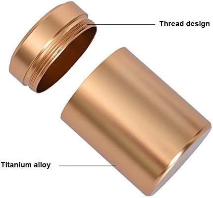 Mini tarros de Aluminio para Guardar Hierbas huangThroStore contenedor Organizador de Especias a Prueba de olores