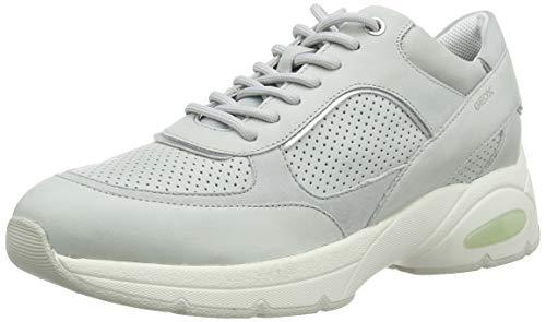Geox D Alhour A, Zapatillas Mujer, Ice, 37 EU