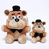 FNAF Peluche Toys Five Nights en Freddy Foxy Freddy Fazbear Bear Bonnie Chica Llavero Llavero Colgan...