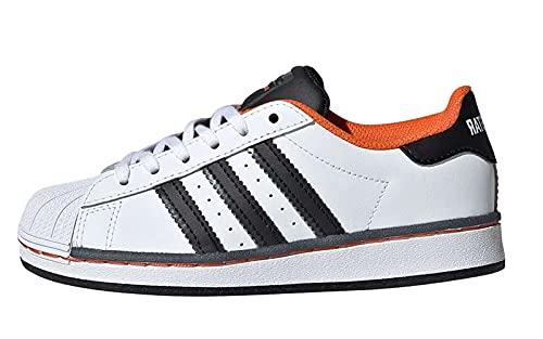 Adidas superstar streetball bianca da bambini - 34