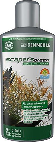 Dennerle Scaper's Green - Hochleistungs-Dünger für anspruchsvolle Pflanzenaquarien, Ideal für Aquascaping (500 ml)