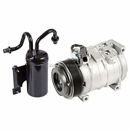 For 2004 2005 2006 Dodge Ram SRT-10 AC Compressor w/A/C Drier - BuyAutoParts 60-89366R2 New
