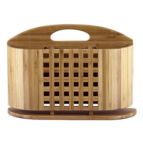 Totally Bamboo 'Eco' Utensil, Flatware and Cutlery Drying Caddy for Totally Bamboo Eco Dish Drying Rack